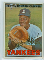 1967 Topps Baseball 25 Elston Howard New York Yankees Very Good
