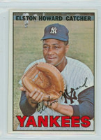 1967 Topps Baseball 25 Elston Howard New York Yankees Very Good to Excellent