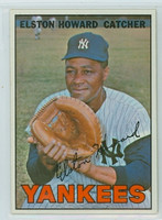 1967 Topps Baseball 25 Elston Howard New York Yankees Excellent