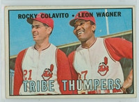 1967 Topps Baseball 109 Tribe Thumpers Cleveland Indians Excellent