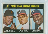 1967 Topps Baseball 240 NL Batting Leaders Very Good to Excellent