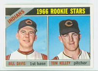 1966 Topps Baseball 44 Indians Rookies Near-Mint