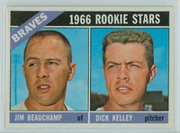 1966 Topps Baseball 84 Braves Rookies Near-Mint Plus