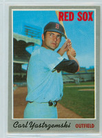 1970 Topps Baseball 10 Carl Yastrzemski Boston Red Sox Near-Mint
