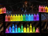 Double,Dual,wide,width, flat, Panel,modular, 16  bottle displays  bottle glorifier  Glorifier  led bar  led bottle display  led bottle displays  led glorifiers  LED Liquor Shelf Display  liquor shelves