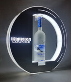 Lunar, VIP, Bottle, service, presenter, LED, carrier, Tray, Plaque, custom, Nightclub, Club, Liquor, Caddy, Ring, case, delivery