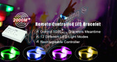 led remote control wristbands crowdsync