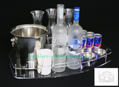 BOTTLE SERVING TRAY DELUX  NEW CRAFT