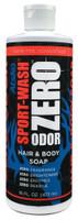 Sport-Wash ZERO Odor Hair & Body Soap - 16 oz.