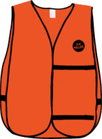 U-V-Killer Treated Blaze Orange Vest