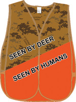 U-V-Killer Camo Blaze Orange Vest