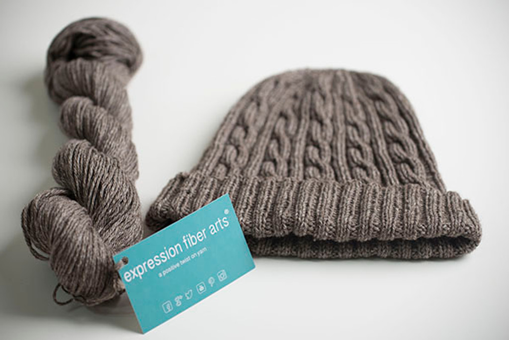 Man-Approved Cabled Hat Pattern
