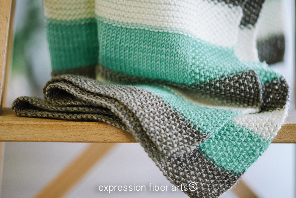 Unending Love Knitted Blanket Pattern