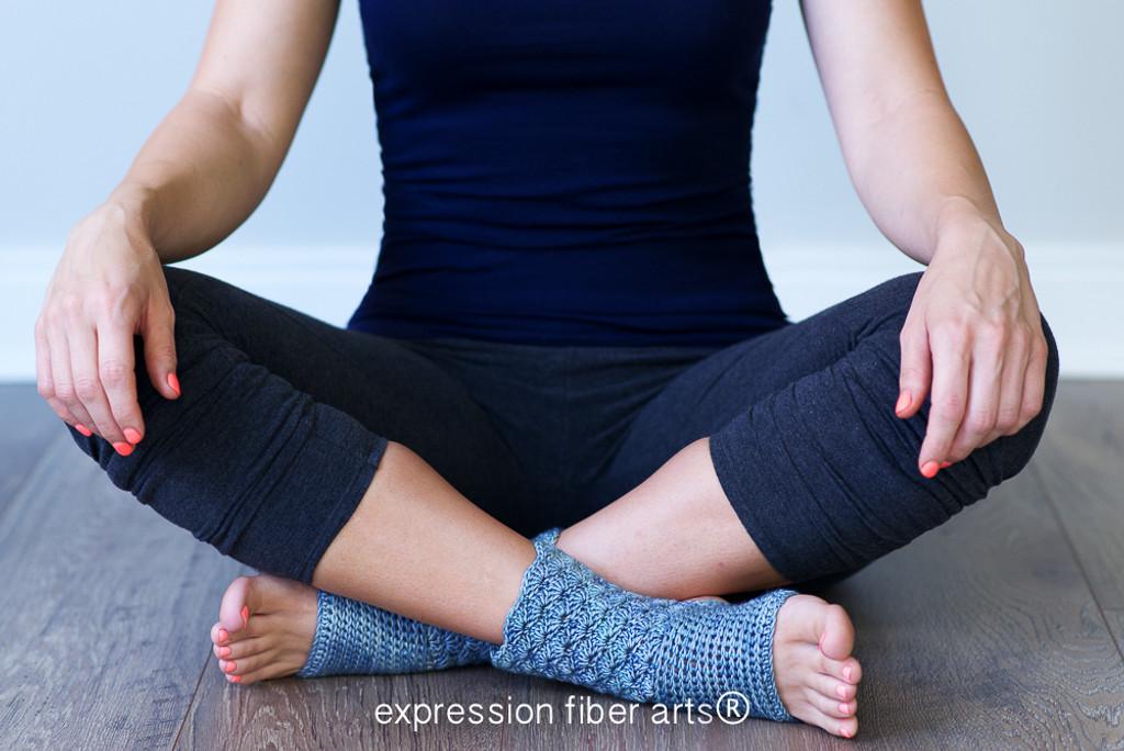 Prana Crochet Yoga Sock Pattern