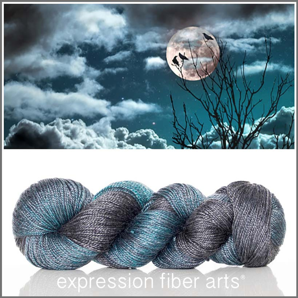 CRISP COOL NIGHTS 'LUSTER' SUPERWASH MERINO TENCEL SPORT