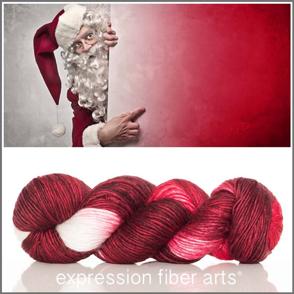 HO HO HO SUPERWASH MERINO SILK PEARLESCENT WORSTED