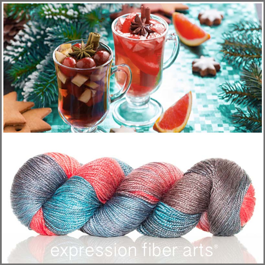 WHERE'S THE WASSAIL Limited Edition 'LUSTER' SUPERWASH MERINO TENCEL SPORT
