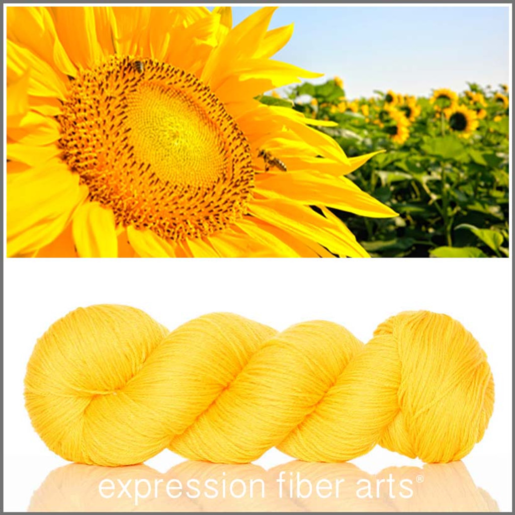 SERENE SUNFLOWER - 'SOCKLOVE' Limited Edition SOCK YARN