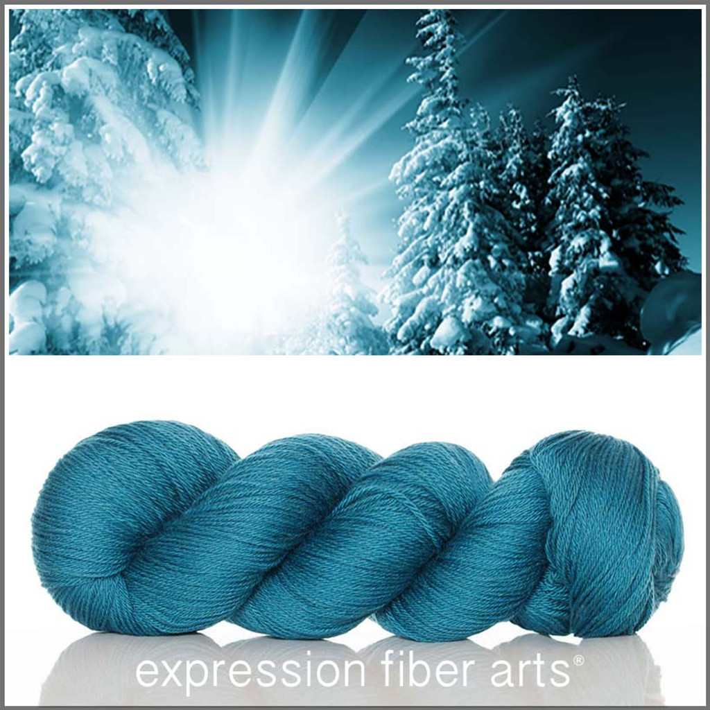 BURST OF TEAL - 'SOCKLOVE' Limited Edition SOCK YARN