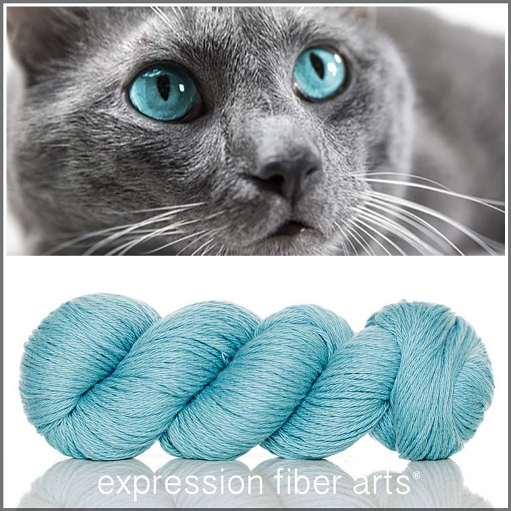 KITTY CUDDLES - 'COZY' Limited Edition Worsted Wool Yarn