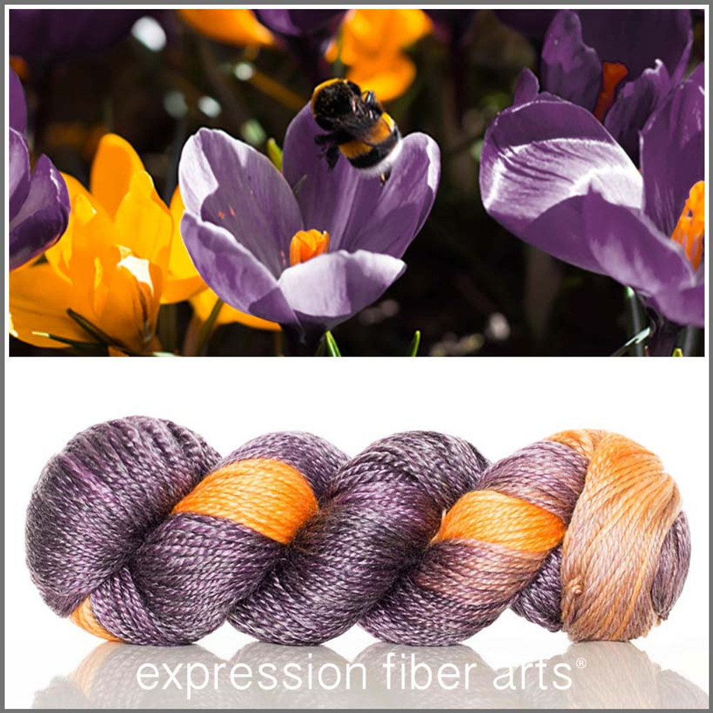 CROCUS 'LUSTER' SUPERWASH MERINO TENCEL WORSTED