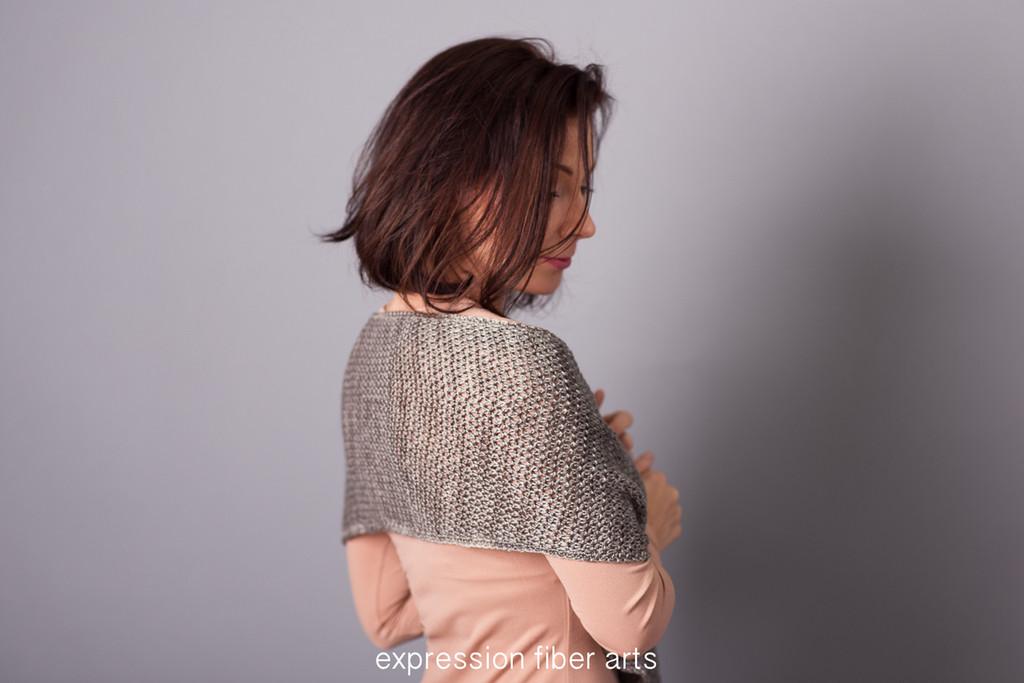 Creek Bed Crochet Wrap Pattern