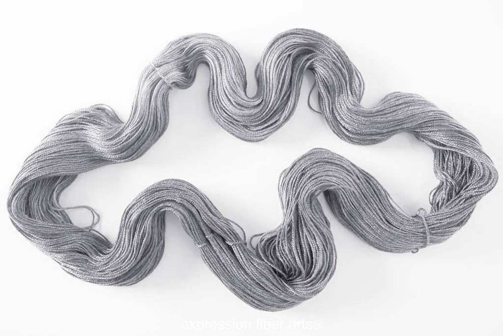 STERLING SILVER 'LUSTER' SUPERWASH MERINO TENCEL SPORT