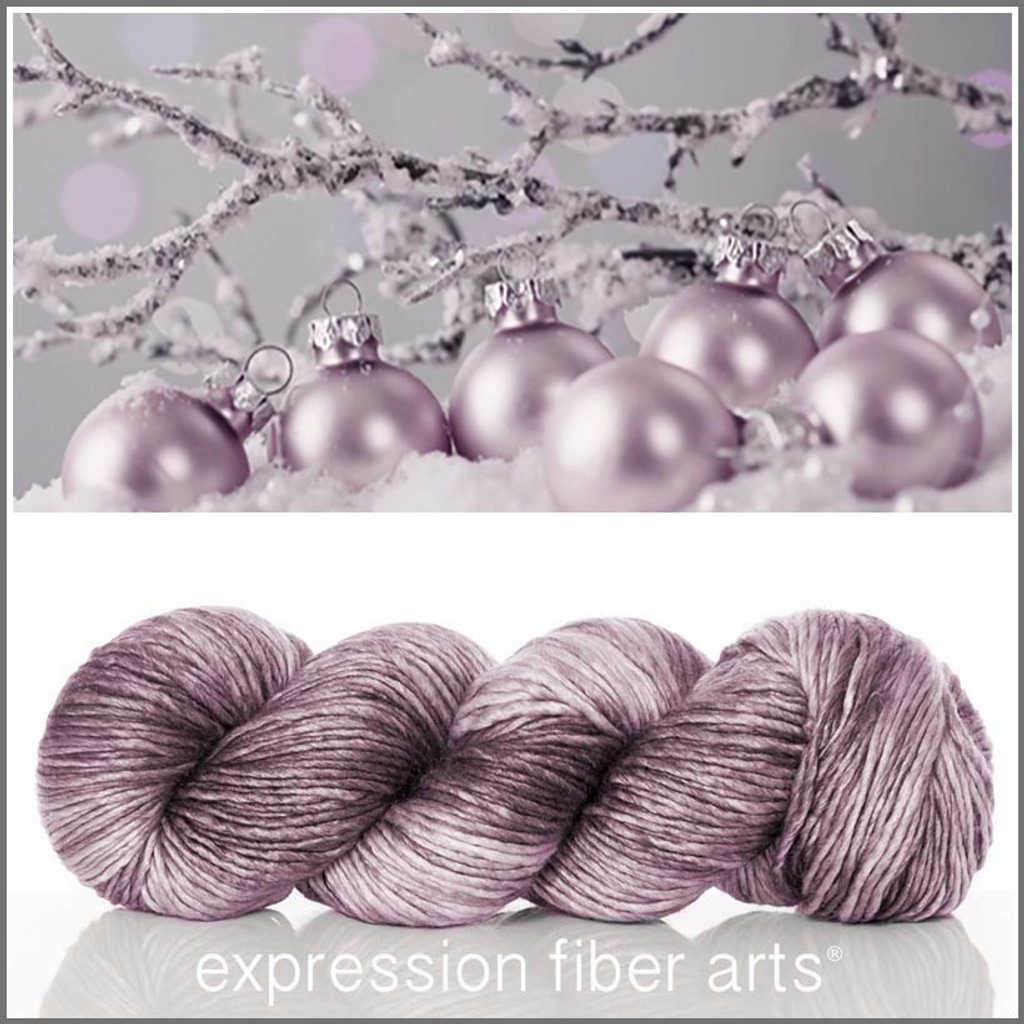 SPARKLING SNOW SUPERWASH MERINO SILK PEARLESCENT WORSTED