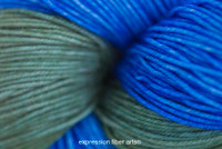 AEGEAN SEA 'RESILIENT' SUPERWASH MERINO SOCK