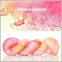 MAKE A SPLASH 'LUSTER' SUPERWASH MERINO TENCEL SPORT