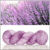 LAVANDULA 'LUSTER' SUPERWASH MERINO TENCEL SPORT