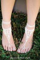 Wanderer Knitted Barefoot Sandals Pattern