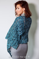 Cozy Season Crochet Shawl Pattern