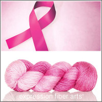 PINK HOPE SUPERWASH MERINO SILK PEARLESCENT WORSTED
