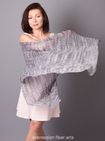 Midnight Grove Knitted Lace Wrap Pattern