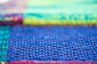 Love Rainbow Knitted Blanket Pattern