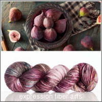 ORGANIC FIG SUPERWASH MERINO SILK PEARLESCENT FINGERING