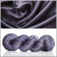 ROYAL GRAY SUPERWASH MERINO SILK PEARLESCENT WORSTED