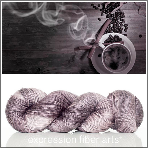 STEAM SUPERWASH MERINO SILK PEARLESCENT FINGERING