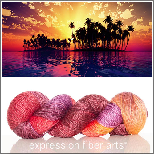 SUNFLAME 'LUSTER' SUPERWASH MERINO TENCEL SPORT