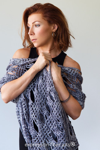 Hoover Dam Crochet Shawl Pattern