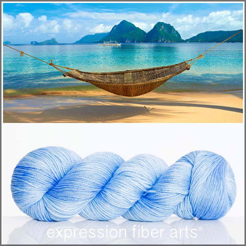 ISLAND SKY 'LUSTER' SUPERWASH MERINO TENCEL SPORT