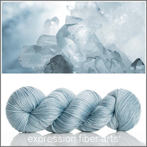 CRYSTAL 'LUSTER' SUPERWASH MERINO TENCEL SPORT