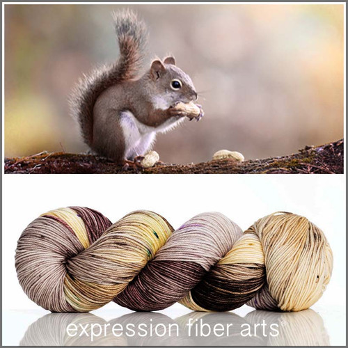 SQUIRREL 'RESILIENT' SUPERWASH MERINO SOCK