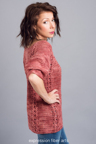 Catia Crochet Pullover Sweater Pattern