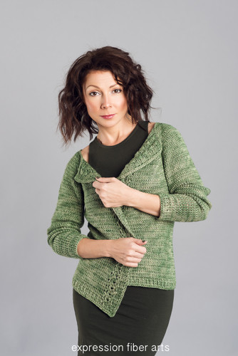 Apple Orchard Crochet Cardigan Pattern