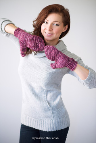 Converti-Mitts Knitted Mitten Pattern
