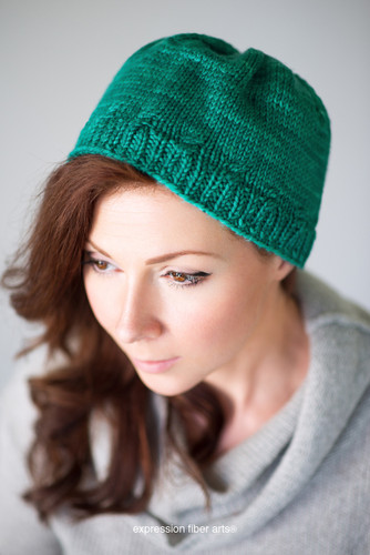 Headband Hat Knitted Pattern