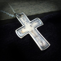 Faith Cross Pure silve-SALE