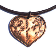 God Love Heart DK Copper